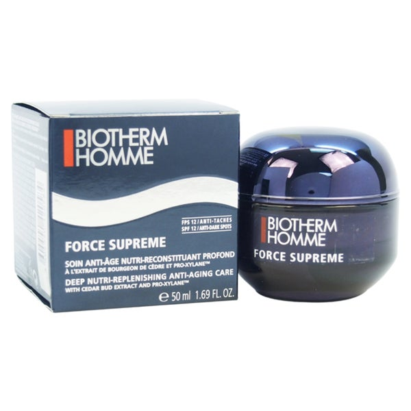 Biotherm Homme Force Supreme Deep Nutri Replenishing Anti-Aging Care