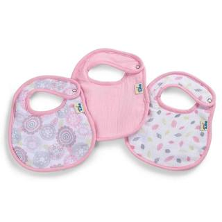 Born Free 'Moroccan Floral' Muslin and Terry Bibs (Pack of 3)