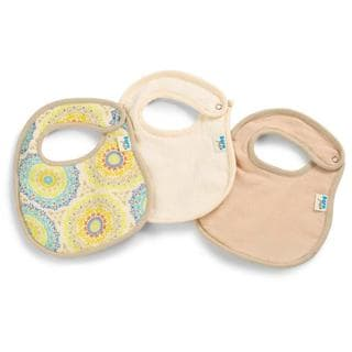 Born Free 'Medallion' Muslin and Terry Bibs (Pack of 3)