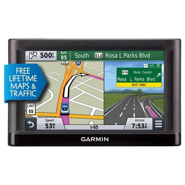 Garmin 66LMT Automobile Portable GPS Navigator