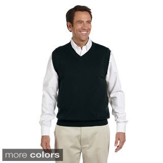 Men's Lightweight Cotton V-neck Vest