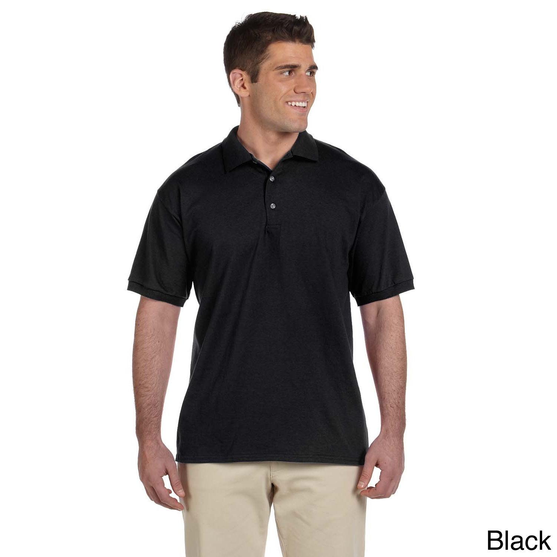 Gildan Gildan Mens Ultra Cotton Jersey Polo Shirt White Size XL