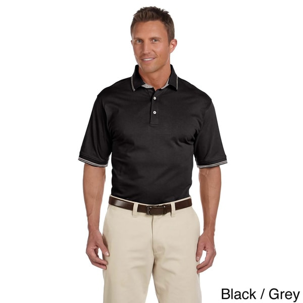 Men's Cotton Jersey Short Sleeve Polo Shirt