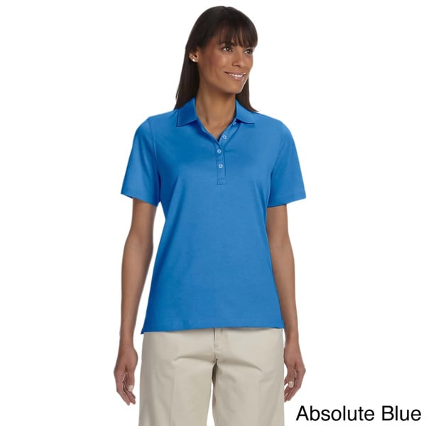 Women's High Twist Cotton Tech Polo Shirt