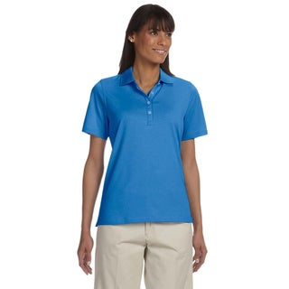 Women's High Twist Cotton Tech Polo Shirt