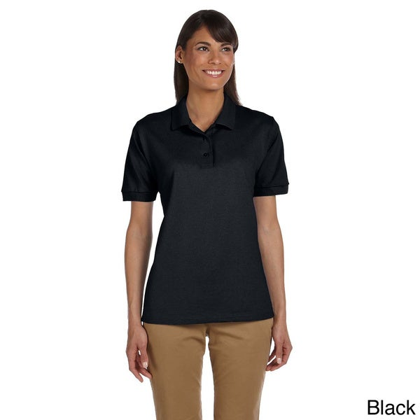Ultra Cotton Ladies' 6.5 oz. Piqu Polo