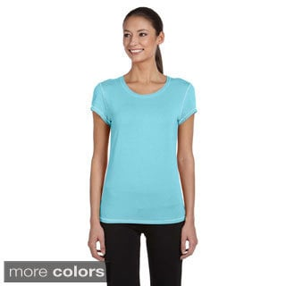 Women's Rayon from Bamboo Short-Sleeve T-Shirt