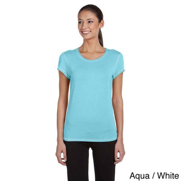 Ladies' Rayon from Bamboo Short-Sleeve T-Shirt