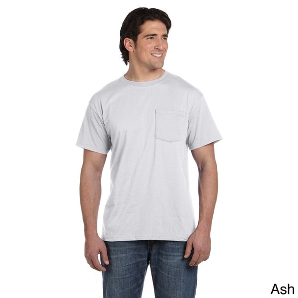 5.6-ounce 50/50 Best Pocket T-shirt