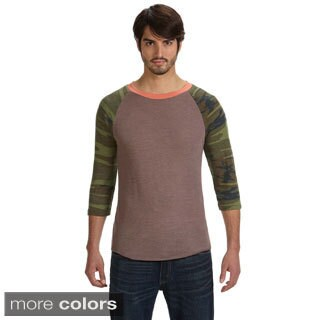 Men's Eco-jersey 3/4-sleeve Baseball T-shirt