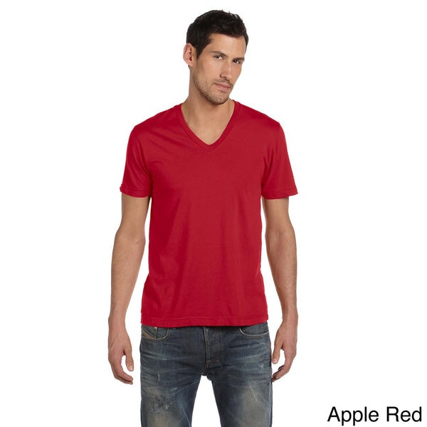 Alternative Men's Basic V-neck Tee