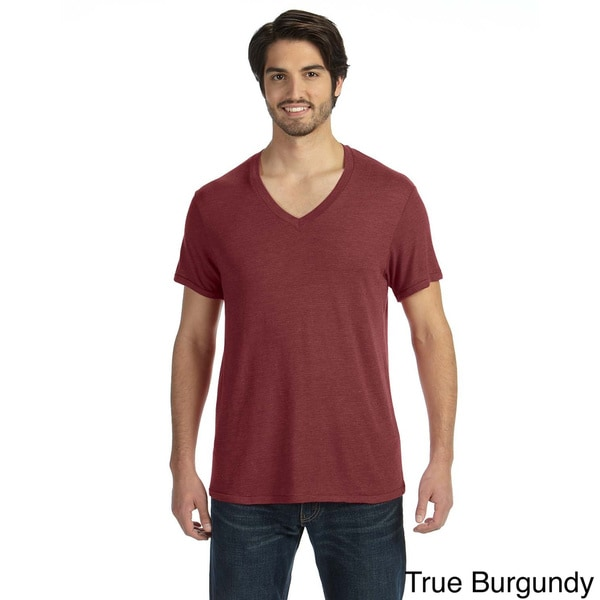 Men's Feeder Stripe Short-sleeve V-neck