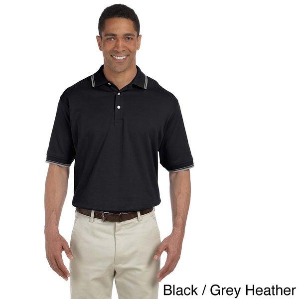 Men's Tipped Perfect Interlock Short-sleeve Polo Shirt
