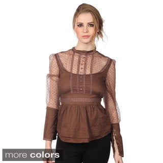 Cotton Express Lace Top