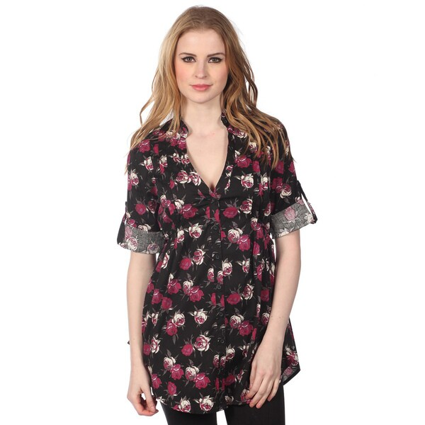 Cotton Express Floral Printed Dress