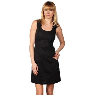 Cotton Express Sleeveless Dress With Side Wasit Belt