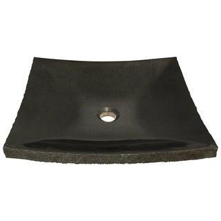 Polaris Sinks P558 Shanxi Black Granite Vessel Sink