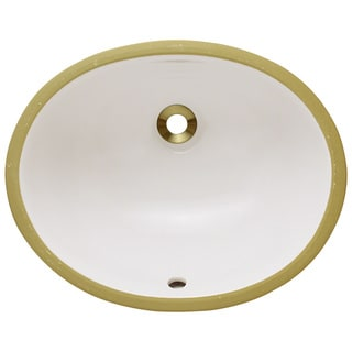 Polaris Sinks PUPSB Bisque Porcelain Bathroom Sink