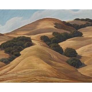 The Plateau' Oil on Canvas Art