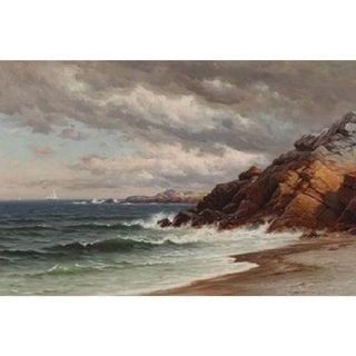 Raymond Dabb Yelland 'Near The Golden Gate' Oil on Canvas Art