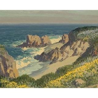 Carmel by the Sea' Oil on Canvas Art