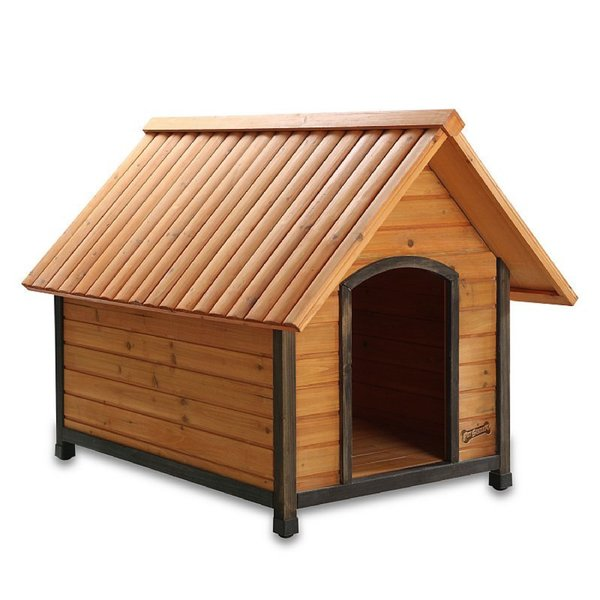 Pet Squeak Arf Frame Raised Wooden Dog House