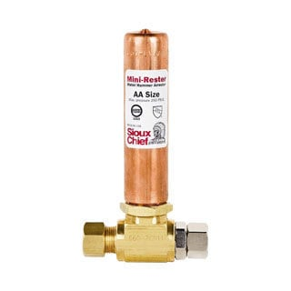Sioux Chief 0.25-inch Icemaker Water Hammer Arrestor Tee
