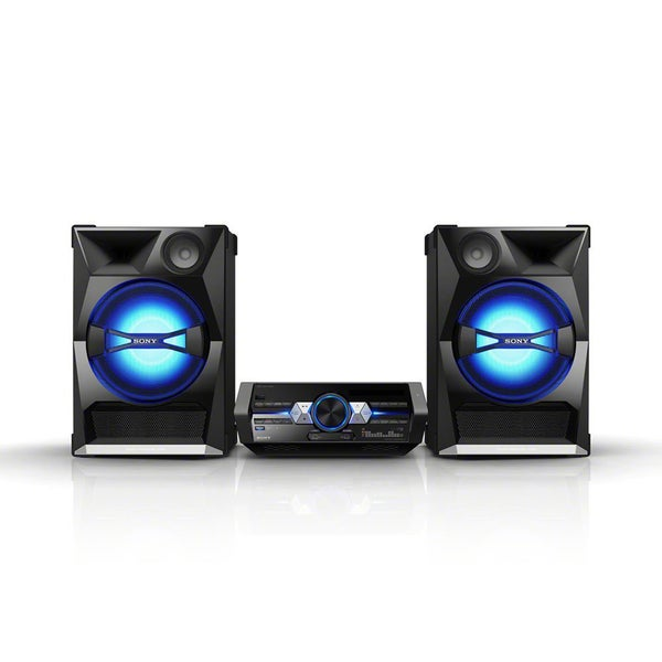 Sony SHAKE-33 Mini Hi-Fi System - 2200 W RMS - iPod Supported - Black