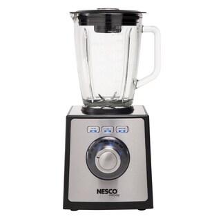 Nesco Black/ Stainless Steel BL-50 700-watt 1.6-quart Glass Pitcher Blender