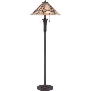 Tiffany Monteclaire Western Bronze Finish Floor Lamp