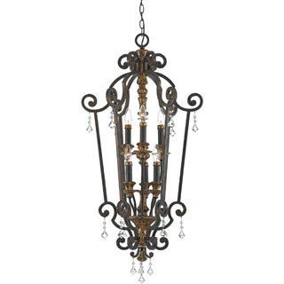 Marquette Heirloom Finish 6-light Cage Chandelier