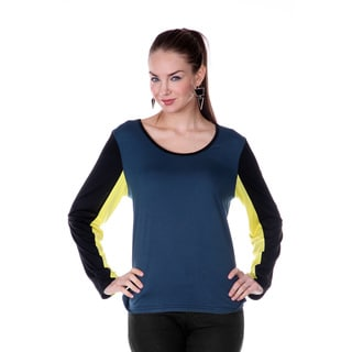 Women's Colorblocked Long Sleeve Shirt