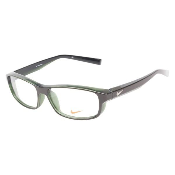 nike 7066 250 brown green prescription eyeglasses