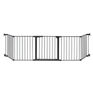 KidCo Auto Close Black Hearth Gate