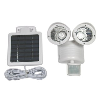 Tricod Motion Sensor 22-LED White Security Solar Flood Light