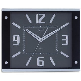 Opal Modern Rectangular Wall Clock