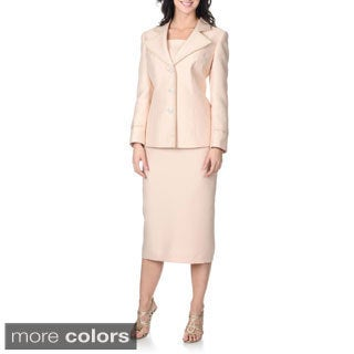 Giovanna Signature Women's Mock 2-piece Skirt Set