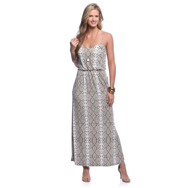 Vince Camuto Women's Printed Jersey Maxi Dress