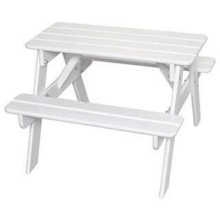 Little Colorado Child's Wooden Picnic Table