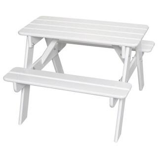 Little Colorado Child's Wooden Picnic Table