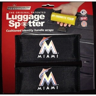 The Original Patented MLB Miami Marlins Luggage Spotter (Set of 2)