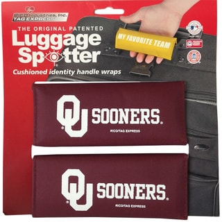 The Original Patented NCAA Oklahoma Sooners Luggage Spotter (Set of 2)