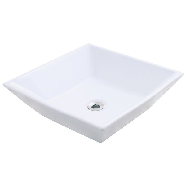 Polaris Sinks P071VW White Porcelain Vessel Sink - 16212132 ...