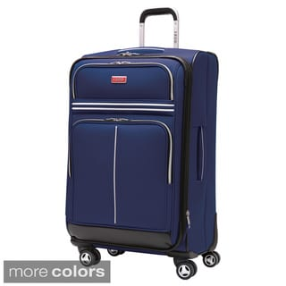 Izod Varsity 28-inch Expandable Spinner Upright Suitcase