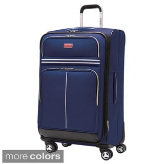 Izod Varsity 24-inch Expandable Spinner Upright Suitcase