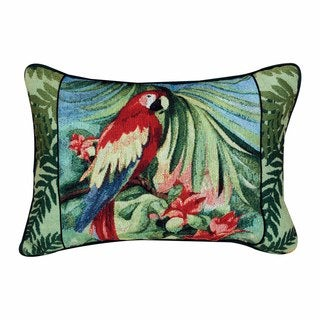 Macaw Tapestry Decorative Rectangle Pillow