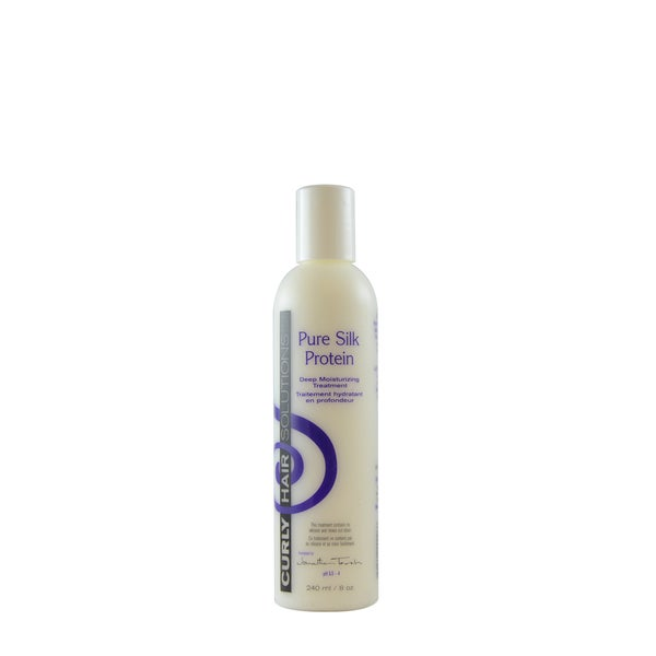 Curly Hair Solution 8-ounce Pure Silk Protein