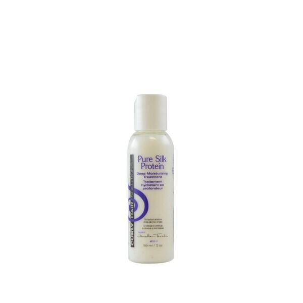 Curly Hair Solution Pure Silk Protein 2-ounce Deep Moisturizing Treatment