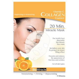 BioMiracle Anti-aging Moisturizing Vitamin C Face Masks (Pack of 5)