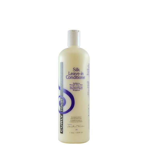 Curly Hair Solution Silk Leave-In 33.8-ounce Conditioner